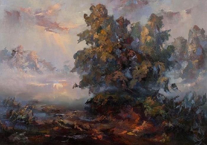 «Осенняя тишина».  Автор: Юрий Козяр.