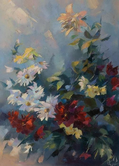 «Цветы». Автор: Валентина Козяр.