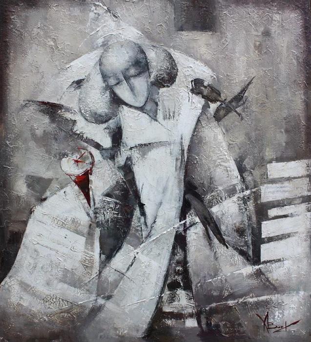 «Последний аккорд скрипки». Автор: Валентина Козяр.