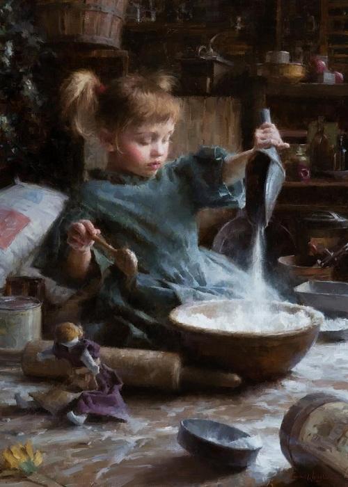 «Мучной ребенок». Автор: Morgan Weistling.