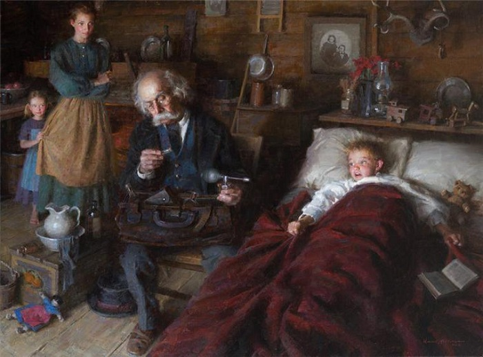 «Семейный доктор». Автор: Morgan Weistling.
