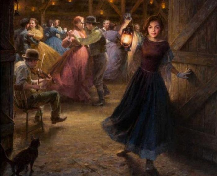 «Танцы». Автор: Morgan Weistling.