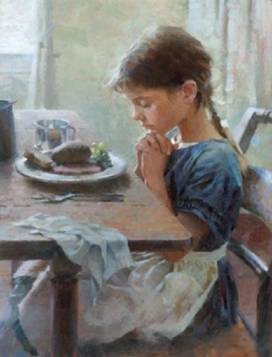 «Перед едой». Автор: Morgan Weistling.