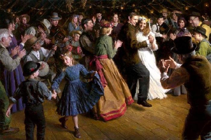 «Первый танец». Автор: Morgan Weistling.