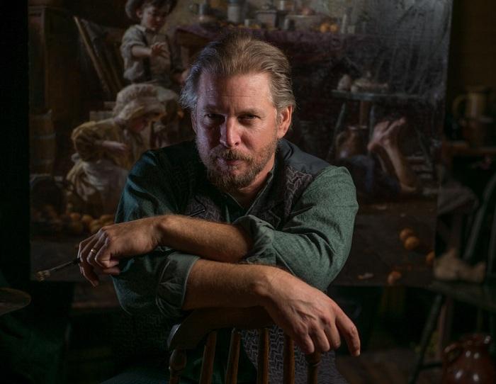 Известный американский художник Морган Вестлинг.