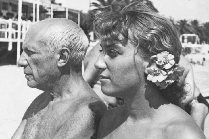 Пабло Пикассо и Майя, август 1952