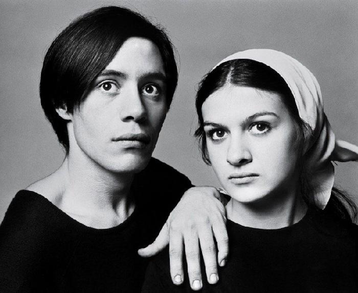 Клод и Палома Пикассо. Париж, 25 января 1966.