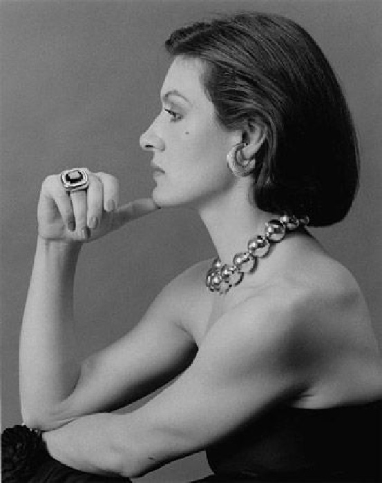 Палома Пикассо, 1980.