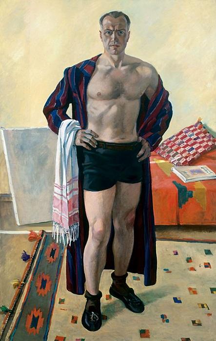 Александр Дейнека. Автопортрет.