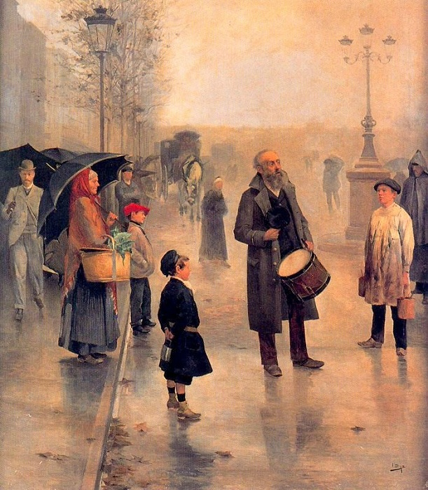 «Проповедник». (1893год). Автор: Сальвадор Диас Игнасио Руис де Олано.