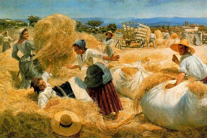 «Август». (1899 год).