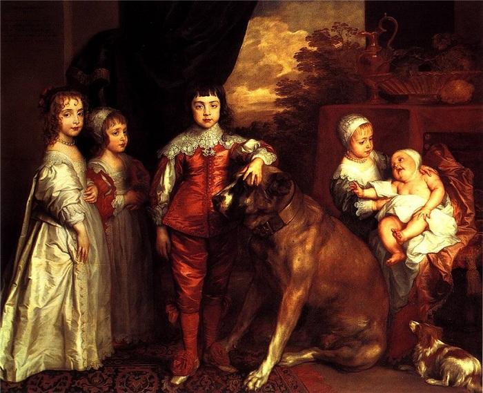 «Дети короля Карла I.» Автор: Антон Ван Дейк.
