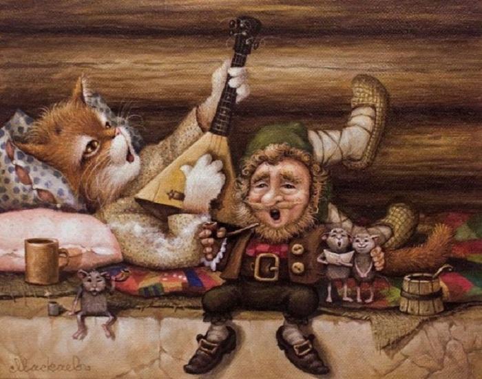 «Картины от печки» Александра Маскаева.