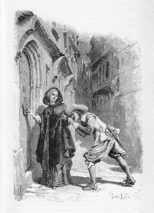 «В порыве страсти».(1894). Автор: Морис Лелуар.