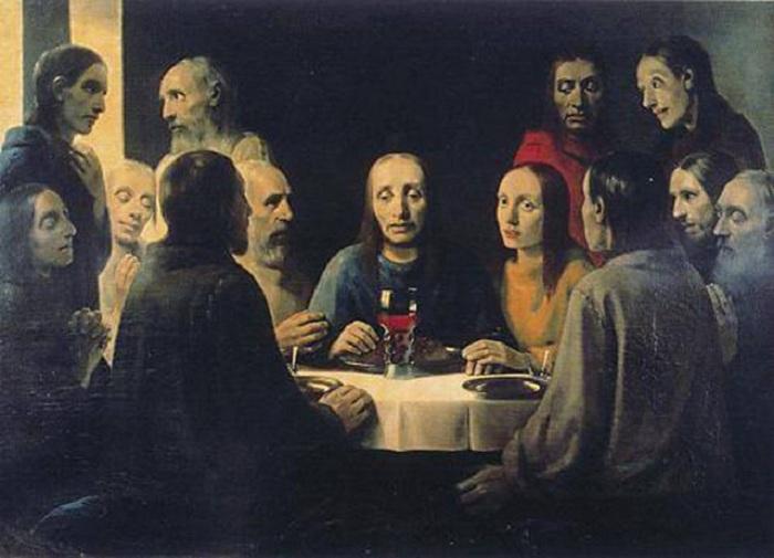 «Христос в Эммаусе». Подделка под Яна Вермеера. Автор: Антониус ван Меегерен.