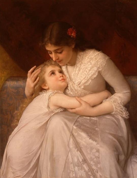 «Прости, мамочка!» Автор: Эмиль Мунье.