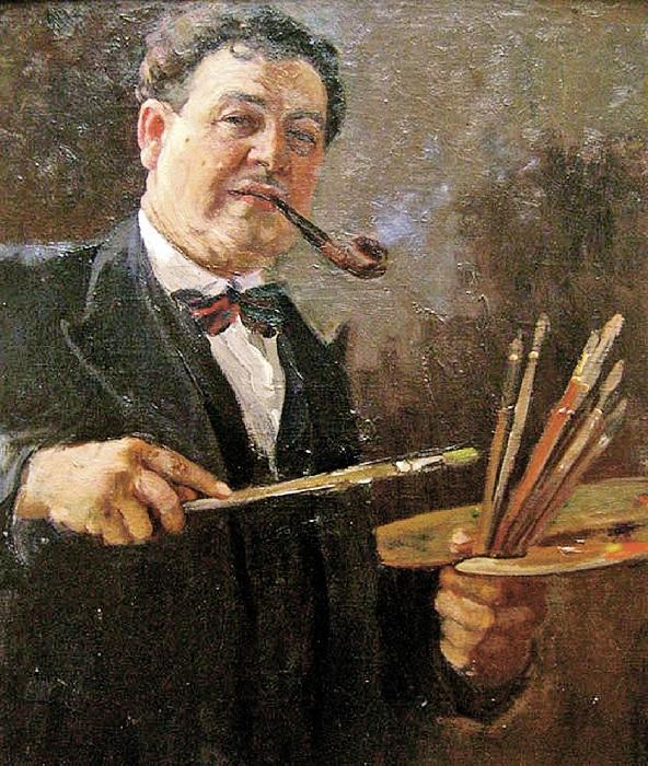 Александр Михайлович Герасимов - художник советской эпохи.