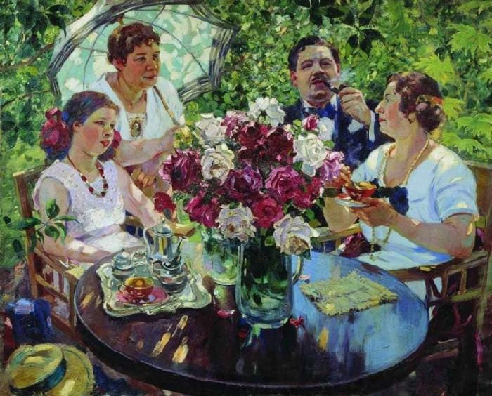 «Семейный портрет». Автор: А. Герасимов.