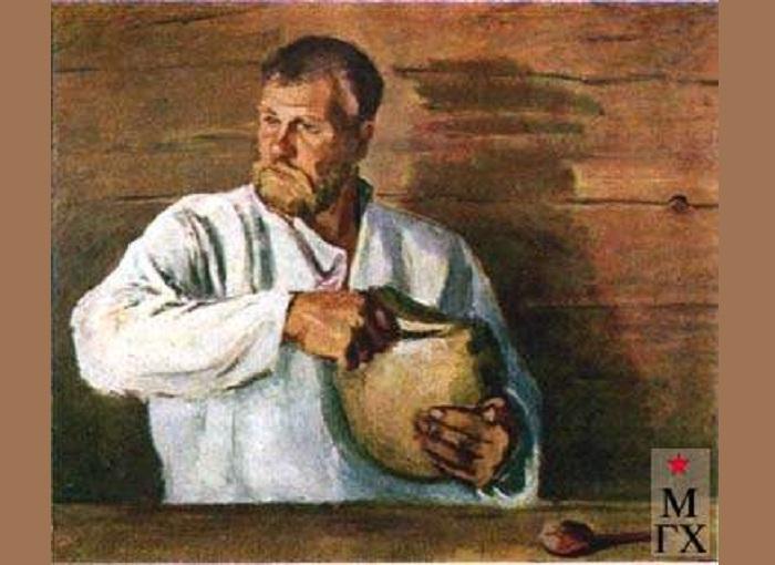 «Портрет крестьянина». Автор: Шурпин Федор Саввич.