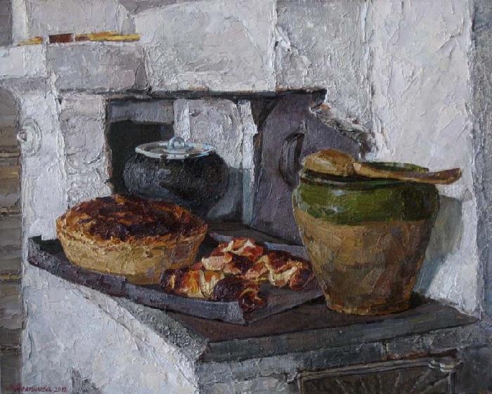 «Свежий хлеб». Автор: Наталья Непьянова.