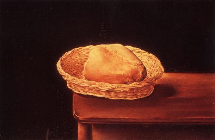 «Корзинка с хлебом». Автор: Сальвадор Дали.