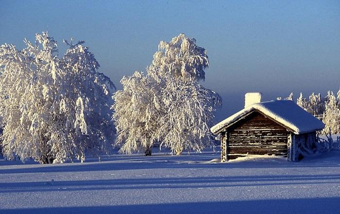 Финская зима.