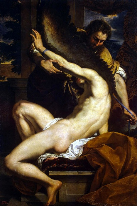 «Икар и Дедал». Автор: Charles Le Brun.