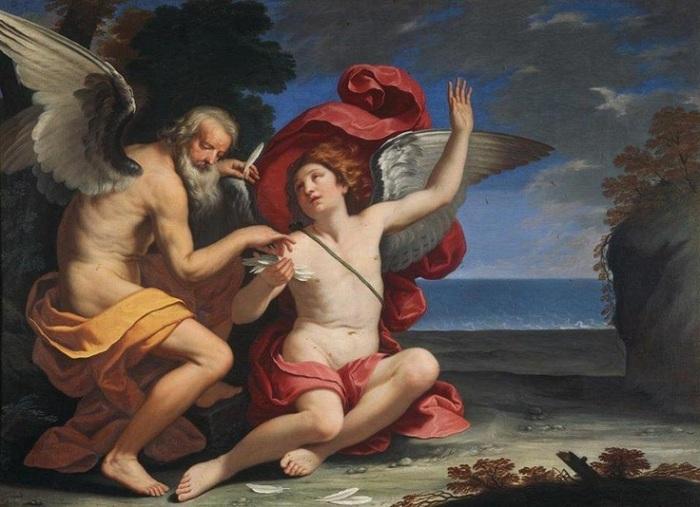 «Дедал и Икар». Рим, Галерея Дория Памфили. Автор: Людовицо Лана.