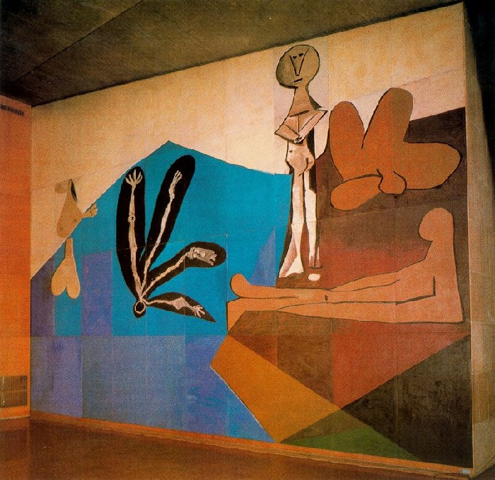 «Падение Икара». Автор: Пабло Пикассо.