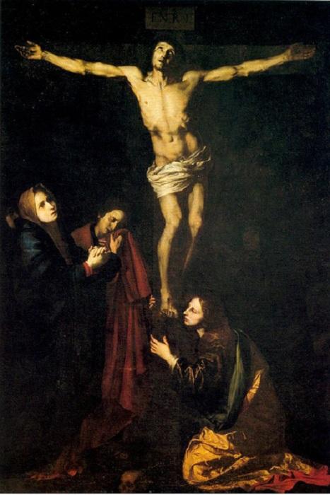 Иисус на кресте. Автор: Хусепе де Рибера.