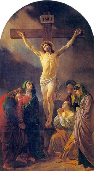 Распятие Иисуса. Автор: Карл Брюллов.