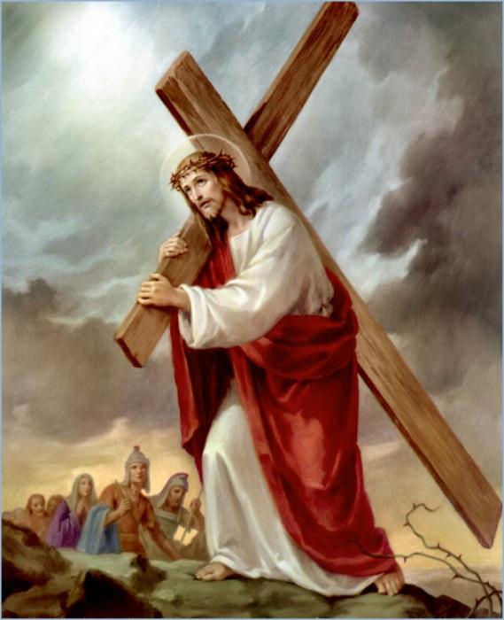 Иконография. Ведение ко Кресту.