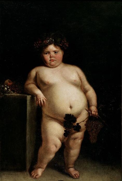 «Карлица Еухения Мартинес Вальехо обнаженная». (1680). Автор: Хуан Кареньо де Миранда.