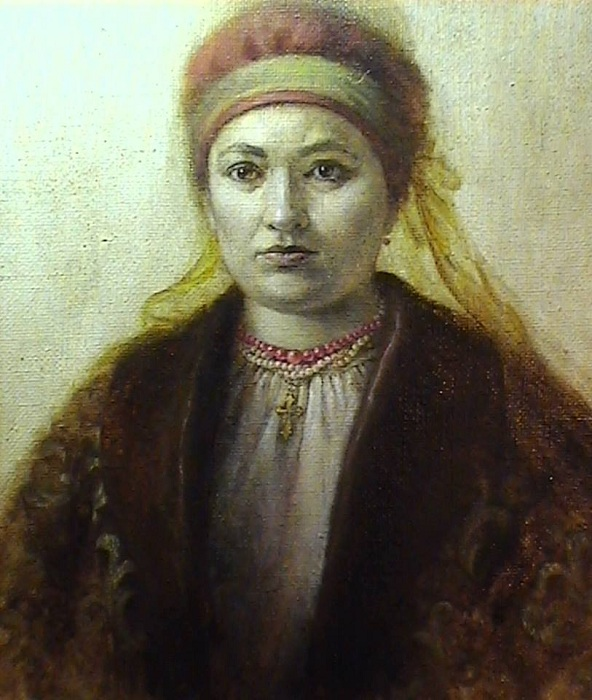 Анна Золотаренко - третья жена Богдана Хмельницкого.
