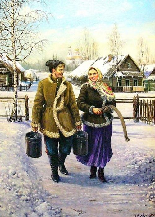 «Из жизни казачьей станицы. Автор: Андрей Лях.