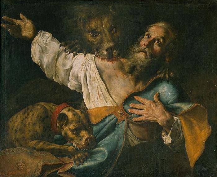 «Игнатий Богоносец, раздираемый львами».