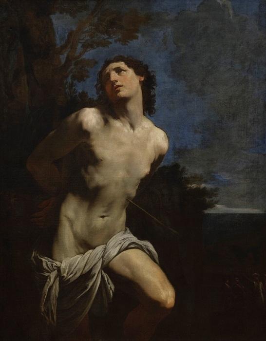 «Святой Себастьян». Автор: Гвидо Рени.