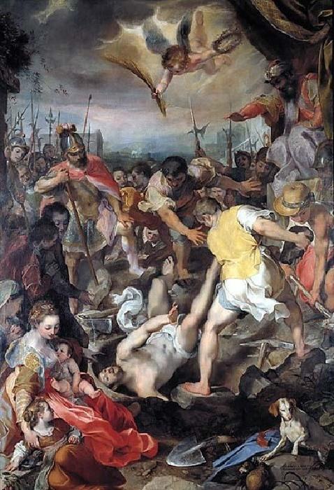 «Мученичество святого Виталия». Автор: Ф.Бароччи.