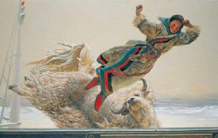 Из серии «Дух и движение». Автор: Wang Yiguang.