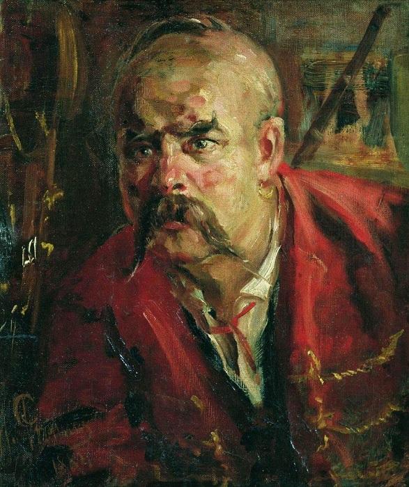 Запорожец. 1884 Илья Репин.