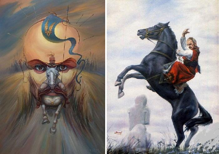 Почему запорожские казаки перед сражением выходили на герц.