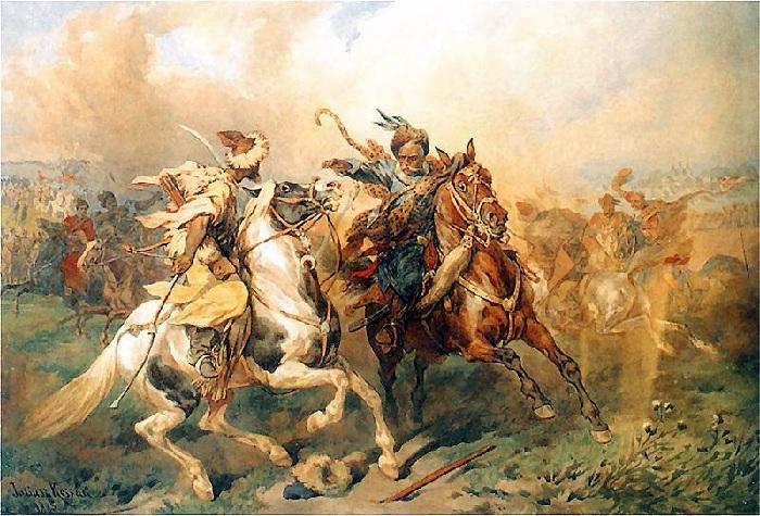 Поединок. Бой с татарами.