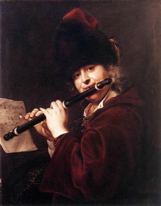 Портрет музыканта Йозефа Лембергера.