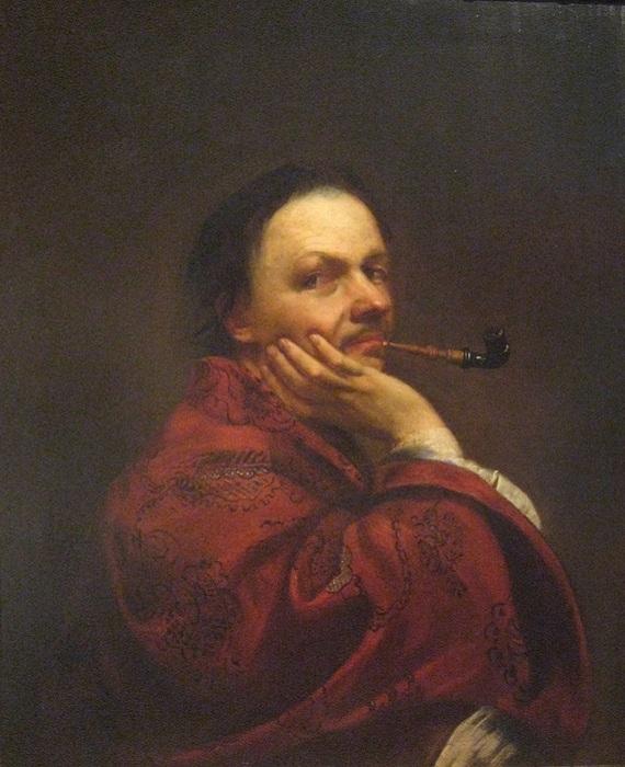Автопортрет. (1707 год). Автор: Ян Купецкий.