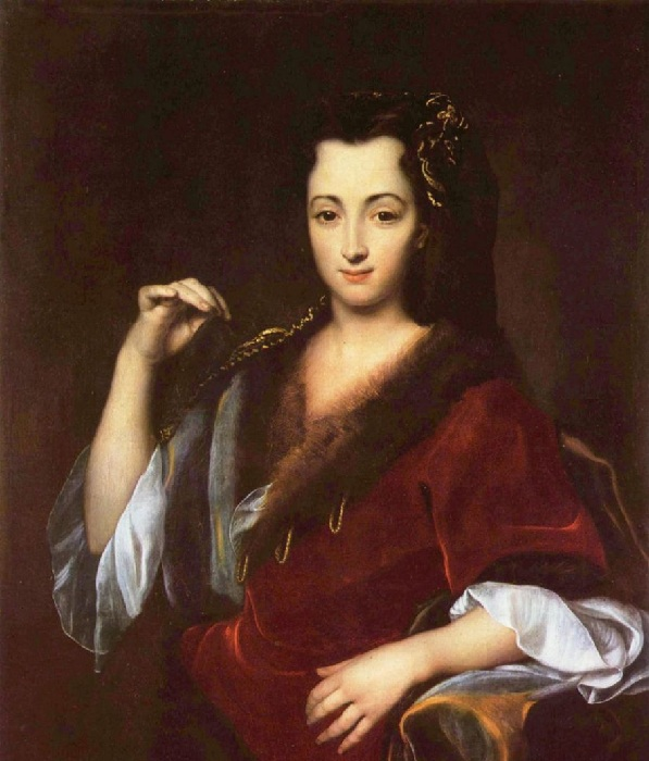 Портрет молодой Полины.