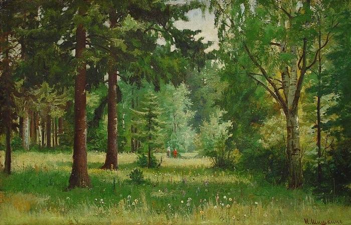 «Дети в лесу». Автор: Иван Шишкин.