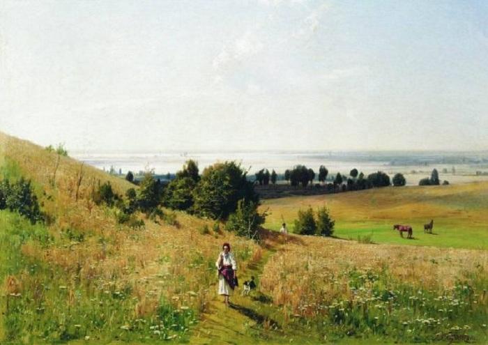 «Пейзаж Малороссии». Автор: Владимир Орловский.
