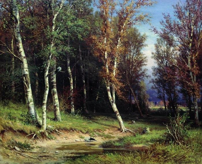 «Лес перед грозой». Автор: Иван Шишкин.