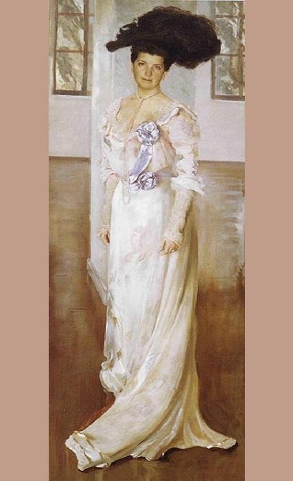Портрет женщины. Автор: Лев Бакст.
