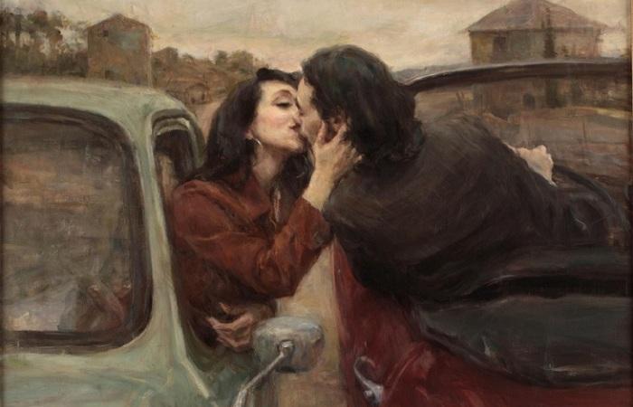 «Ну, целуй меня, целуй...»